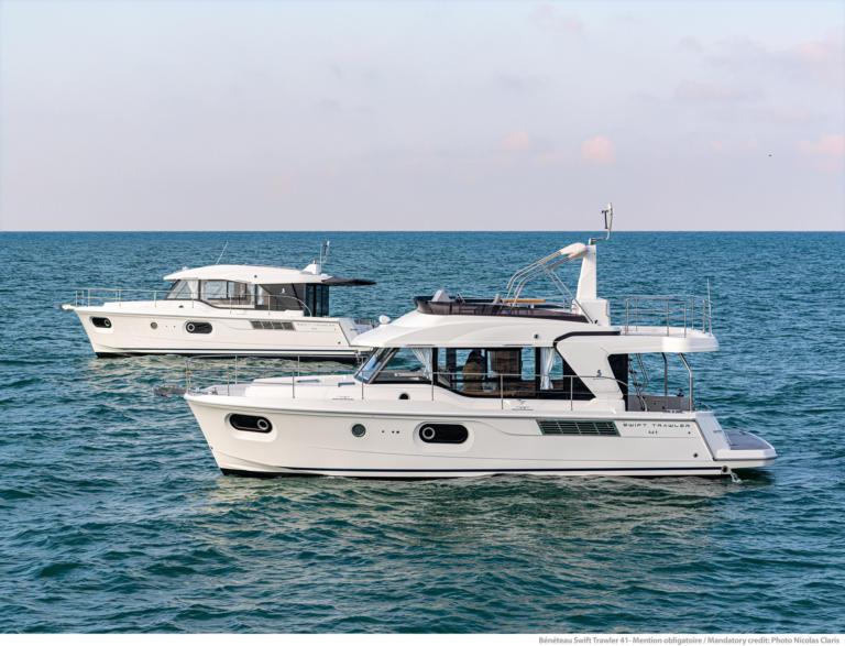 Swift Trawler 41 at sea2